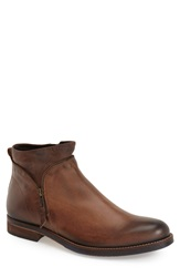 Bacco Bucci 'Geneva' Zip Boot Men Brown