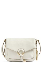 Vince Camuto Adina Leather Crossbody Bag Ivory Birch