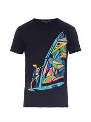 Marc By Marc Jacobs Windsurfer Print Jersey T Shirt