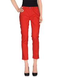 Tommy Hilfiger Trousers Casual Trousers Women Red