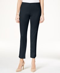 Charter Club Slim Leg Ankle Pants Only At Macy's Intrepid Blue