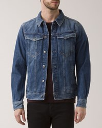 G Star 3301 Blue Unconstructed Jeans Jacket