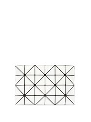 Bao Bao Issey Miyake Lucent Pouch Bag White