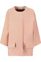 Marni Stretch Wool Coat Pastel Orange
