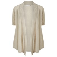 Windsmoor Linen Short Sleeve Cardigan Neutral