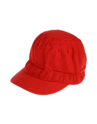 Y 3 Hats Red
