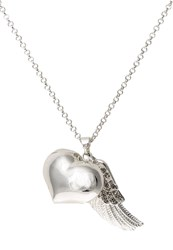 Sweet Deluxe Happy Necklace Silvercoloured Cry