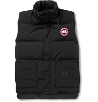 Canada Goose Freestyle Down Filled Quilted Gilet Black