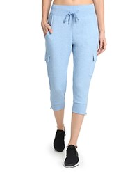 2Xist 2 X Ist Cropped Jogger Pants Light Chambray Heather