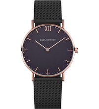 Paul Hewitt Sailor Line Rose Gold Plated Stainless Steel Watch