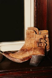 Lucchese Womens Into The Wild Western Boo