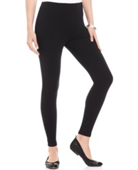 Style And Co. Petite Ankle Length Leggings Deep Black