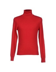 Heritage Turtlenecks Red