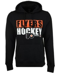 47 Brand '47 Men's Philadelphia Flyers Knockaround Headline Pullover Hoodie Black