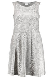 Junarose Jrdaimy Cocktail Dress Party Dress Silver