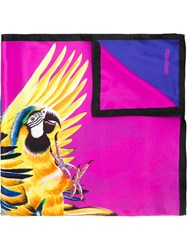 Dsquared2 Parrot Print Scarf