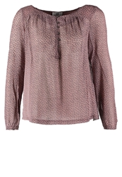 Noa Noa Wyoming Flower Tunic Dark Blush Rose