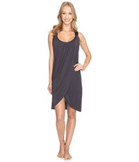 Midnight By Carole Hochman Modal Chemise Grey Women's Pajama Gray