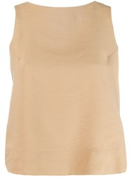 Song For The Mute Distressed Style Vest Neutrals