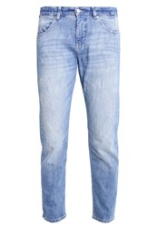 M A C Mac Sexy Carrot Relaxed Fit Jeans Stone Blue Destroyed Denim