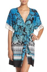 Women's In Bloom By Jonquil Print Knit Robe