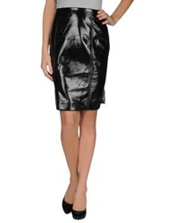 Jonathan Saunders Knee Length Skirts Black