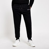 River Island Prolific Black Regular Fit Joggers