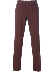 Etro Classic Chinos Pink And Purple