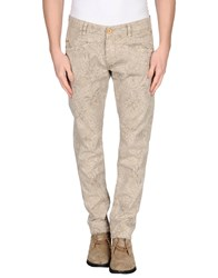 Gas Jeans Gas Trousers Casual Trousers Men Beige