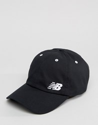 New Balance Cap In Black Black