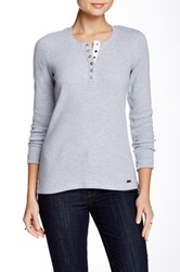 Barbour Fleet Thermal Henley Gray
