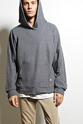 Forever 21 Eptm. Textured Hoodie Charcoal