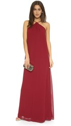 Joanna August Casey Keyhole Twist Maxi Dress Ramble On Rose