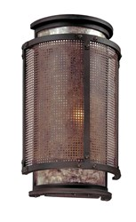 Troy Lighting Copper Mountain Wall Light Brown