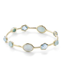 Ippolita 18K Gold Rock Candy Multi Stone Bangle In Waterfall