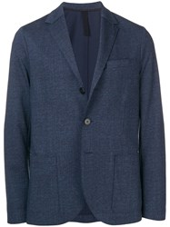 Harris Wharf London Soft Blazer Blue