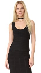 Herve Leger Morgan Tank Black