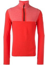 Rossignol 'Sideral' Zipped Fleece Red