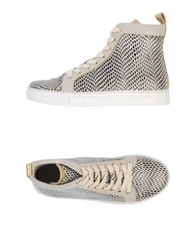 Lola Cruz High Tops And Trainers Light Grey