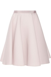 Giambattista Valli Wool And Silk Blend A Line Skirt Pink