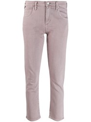 Citizens Of Humanity Cropped Skinny Jeans Pink