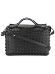 Tod's Removable Strap Tote Black