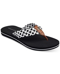 Tommy Hilfiger Women's Cerley Flip Flops Women's Shoes Black