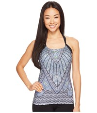 Prana Quinn Top Black Samba Women's Workout