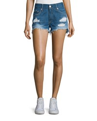 Rag And Bone Rag And Bone Jean Distressed Cut Off Denim Shorts Freeport Women's Size 29