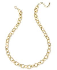Charter Club Gold Tone Chain Necklace Only At Macy's