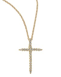 Cross Necklace Roberto Coin Red