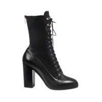 Sergio Rossi Changeling Lace Up Ankle Boot