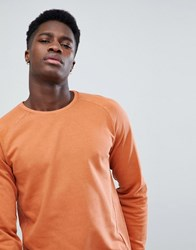 Only And Sons Sweatshirt With Raglan Sleeve Bombay Brown