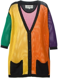 Jc De Castelbajac Vintage Colour Block Cardigan